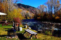The Private Island on The Roaring Fork