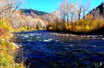 The roaring fork River
